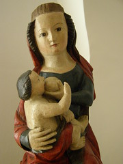 Nursing Madonna, 3rd quarter of 14th century, detail (DeBeer) Tags: sculpture art statue carved catholic sacral madonna gothic carving medieval christian maternity sacred virginmary middleages 14thcentury nursing woodcarving babyjesus madonnaandchild woodenstatue woodensculpture madonnawithchild ourlady christchild medievalart polychromy infantjesus gothicart medievalsculpture nursingmadonna polychromed gothicsculpture infantchrist polishart gothicstatue polishsculpture 14thcenturysculpture 14thcenturyart medievalstatue 14thcenturystatue
