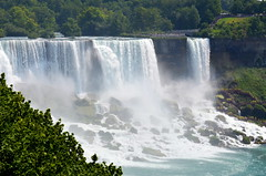 American Falls [Niagara Falls - 4 August 2014] (Doc. Ing.) Tags: wild summer usa ontario canada nature water river niagarafalls waterfall niagara waterfalls northamerica americanfalls escarpment on 2014