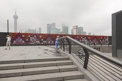 Shanghai (arnd Dewald) Tags: china skyline river shanghai streetphoto   pudong bund jinmaotower  thebund orientalpearltower  huangpuriver  flus arndalarm aurorabuilding huangpudistrict  mg793456k8co20hi50wh50rdv51eklein