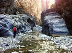 Little Snake Gorge (charlottehbest) Tags: mountains river scenery rocks picnic offroad 4x4 paddle adventure explore april gorge oman wadi 2014 hajar wadibaniauf charlottehbest littlesnakegorge