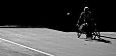 never give up (Saundi Wilson Photography) Tags: wheelchair tennis paraplegic usopen sabineellerbrock