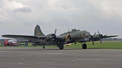 Boeing B-17 Flying Fortress - Sallly B (Hawkeye2011) Tags: uk aircraft aviation airshow b17 boeing flyingfortress 2014 memphisbelle rafduxford dalyb