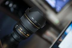 Nikkor 24mm f/1.4 (Chris Buhr) Tags: lens prime nikon f14 24 mm nikkor objektiv festbrennweite