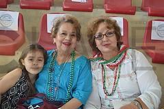 0901. Ana Lucía Cantú Tijerina, Alma Casso y Alba Hernández Monzón.