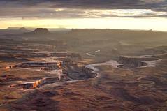 green river overlook (andrew c mace) Tags: sunset 35mm landscape utah nationalpark nikon canyon canyonlands moab coloradoplateau d90 nikoncapturenx greenriveroverlook