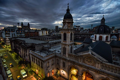 Tarde nublada (karinavera) Tags: city travel storm argentina weather clouds photography buenosaires cityscape once abasto balvanera nikond5300
