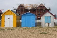 Buildings - Felixstowe (Neil Pulling) Tags: uk england beach suffolk seaside resort coastal northsea nordsee beachhuts felixstowe eastanglia eastcoast seasideresort