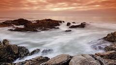 Atlantic Softness from Lea (VitorJK) Tags: from sea art portugal water night canon softness atlantic tokina pt vitor norte palmeira lea junqueira 1116 50d vitorjk