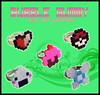 Anillos (Bubble Gummy pixel art) Tags: food japan beads geek ring cupcake pixel pixelart pokemon zelda jewlery navi japon hama perler anillos anillo 8bits pokeball origini hamabeads perlerbeads beadsprite bubblegummy bubblegummypixelart