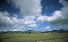 Grassland in Xinjiang (Zorkiev Fednovych) Tags: china travel film pentax slide epson fujifilm provia e6 rdp superprogram