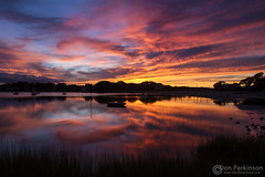 IMG_6100 DONE WEB (donparkinson) Tags: ocean sunset color reflection water clouds capecod capecodma