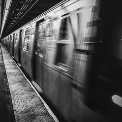 14 St, 8 Ave Station (gazmanjones) Tags: new york city nyc ny station st subway manhattan 14 14th 2014 strret