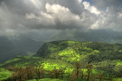 Sahyadri in Monsoon! (  ) Tags: nature horizontal landscape monsoon greenery manual hdr hdri sahyadri nikond7000