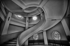 At Chinese Garden, Singapore (_paVan_) Tags: garden chinesegarden spiral staircase stairs spiralstaircase jurong singapore