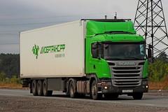 Scania G400   605  116 (RUS) (zauralec) Tags: kurgancity therouter254irtysh254 transport company leader transrf   scania g400  605  116 rus