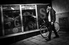 Conversation (Henka69) Tags: street streetphoto stockholm conversation candid people bw monochrome b