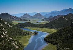 Montenegro (Safarii) Tags: montenegro europe water kotor holiday river nature rural meander wetland skadar hills mountain mountains summer sun balkans