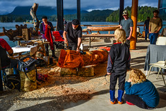 How to Carve a Totem Pole (SonjaPetersonPh♡tography) Tags: tofino westcoast westcoastvancouverisland tourists longbeach pacificrim pacificrimnationalparkreserve fishing fishboats inlet water pacificocean ocean docks wharves oldboats storms birdwatching sailboats tofinoair strawberryisland strawberryislandcommunity floathomes floatinghomes tofinoharbour tofinoinlet clayoquotsound floats buoys britishcolumbia canada nature nikond5200 nikon 2016 theinnattoughcity icehouseoysterbar