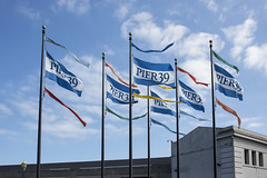 Pier 39 (jimwatkinssfgallery) Tags: sanfrancisco california pier39 attractions waterfront flags