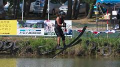 20160903_132147_DSC_5849 (seiichi_sugano) Tags: waterski waterskiing watersports water championship collegiate jccw jump trial ob oogata akita japan   og