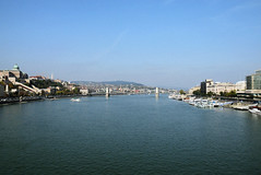 Budapest (gabubumon.) Tags: budapest panorama view hungary danube danubio river bridge
