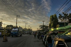 Another day (vinturs) Tags: philippines trike tricycle alsocumulus clouds cloud sunrise morning marketplace market