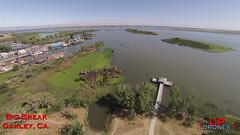 DU big break 3 (bradleybennett) Tags: drone drones fly high quad copter blade 350qx3 remote control flying big break marina ebrp pier delta water
