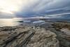 is arutas (mat56.) Tags: paesaggi paesaggio landscapes landscape isarutas scogliere spiaggia beach cabras oristano sardegna cielo mare sky sea nuvole nubi clouds cliff acqua water rocce rocks antonio romei mat56
