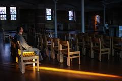 Prayer Basking (Lawrence OP) Tags: stvincents archabbey latrobe pennsylvania benedictine monastery prayer contemplation franciscan friar