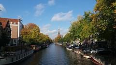 Amsterdam Prinsengracht bij de Elandsgracht in de herfst (pdp.osdorp) Tags: amsterdam prinsengracht gracht water herfst westertoren