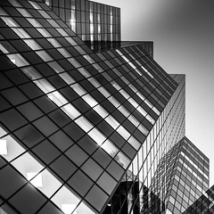 AlphaQuadrant (s.W.s.) Tags: montreal quebec canada architecture architectural blackandwhite bw nikon building city skyscraper urban downtown d3300 lightroom 1981mcgillcollege facade