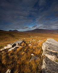 towards Suilven and Canisp (saraflorence) Tags: scotland highlands autumn mountains