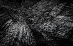 Resistance (David Haughton) Tags: cornwall cornish rock coast rocks geology sedimentary killas rocky fine art fineart mono monochrome blackandwhite david haughton