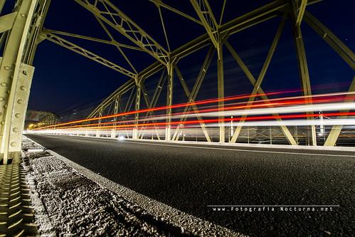 Fotografía nocturna Puente de Treto