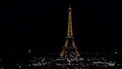 La mia torre Eiffel (Luc1659) Tags: parigi eiffel notturno elaboration