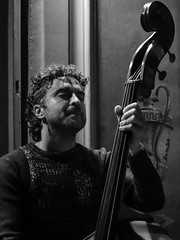 Greg Burk Expanding Trio @ Zingar Jazz Club (lorenzog.) Tags: gregburkexpandingtrio jazz jazzclub jazzitaliano jazzphotography jazzmusic live livemusic liveconcert concert concertphotography musicphotography bw 2016 faenza italy nikon d300 stefanosenni
