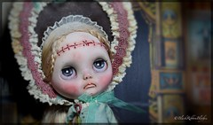 "Latest Custom Blythe Doll ""Stolen Imagination."" (Helen CW - Black Ribbon Blythes) Tags: blackribbonblythes blythe blythedoll blythecustomiser blythecustom customblythedoll customdoll artistblythedoll artistdoll artdoll ooakdoll ooakblythedoll gothicblythedoll gothicdoll"