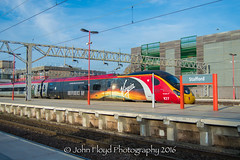 DSC_0322 (John Floyd Photography) Tags: trains trainsspotting nikon d3200 passenger freight wcml stafford trainphotography transport 1855mm virgin virgintrains pendolino 390 class390 independanceday