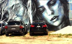 Girl (claudioolé) Tags: auto murales cars woman donna hair capelli disegno design miami florida