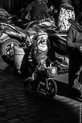 Little suspicious girl (MATHTOUFFE) Tags: blackandwhite littlegirl streetphotography street