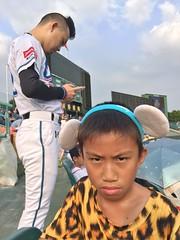 IMG_9487 (dogman!) Tags: cpbl   baseball lamigo lamigomonkeys lamigo  hi baby 3g ggg takenbymobile mobile iphone iphone6