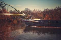 Maria... (hobbit68) Tags: main frankfurt schiff ship water brcken bridge himmel sky