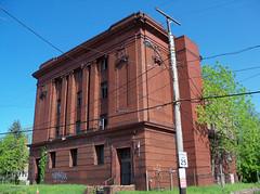 OH Cleveland  Masonic Temple (scottamus) Tags: cleveland ohio cuyahogacounty old abandoned building vacant masonictemple