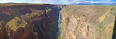 Rio Grande Gorge (Evan Yokum) Tags: riogrande gorge newmexico historic landmark river water rocks geology