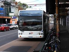 1740AO-Transdev #740-ex Smart bus (damo2016 photos) Tags: exsmartbus 740 1740ao collingwood ptv ptvlivery 2016