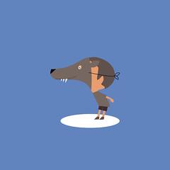 El juego es la forma ms alta de la investigacin.-Albert Einstein. (Mercedes CAMACHO) Tags: juego einstein play children infancia enfants disfraz dguisement vie happylife lobo wolf loup
