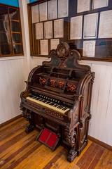 Organ in San Juan Mission Church (Serendigity) Tags: lincoln wildwest keyboard historic usa unitedstates organ town newmexico