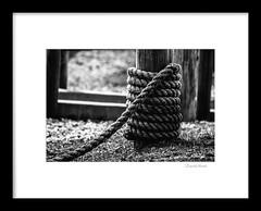 Framed Rope (david.horst.7) Tags: bw blackandwhite frame