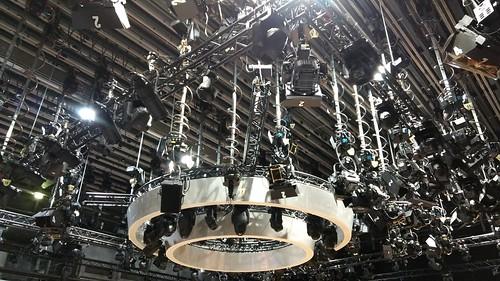 HR-Studio - mehr als 300 Scheinwerfer
