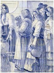 Gare de Porto-São Bento (abac077) Tags: azulejos faïence porto portugal art gare station 2016 são bento bleu blue
